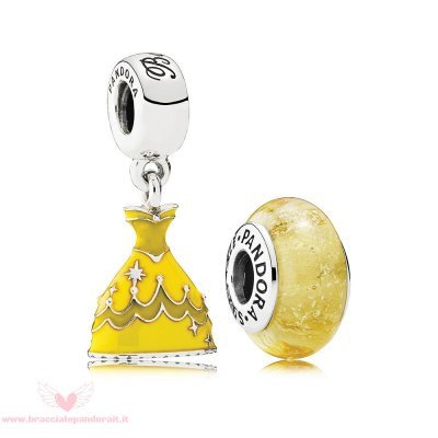 Pandora Online Outlet Disney Belle Fascino Pacco