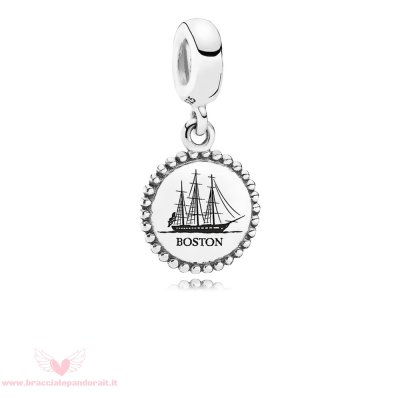 Pandora Online Outlet Vacanza Viaggio Charms Boston