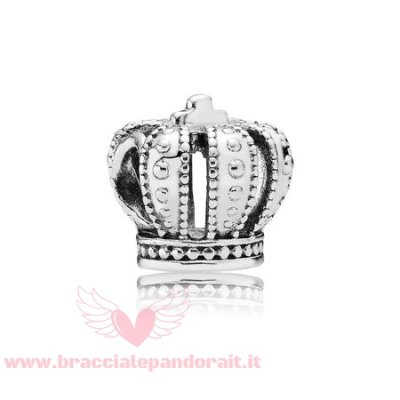 Pandora Online Outlet Fiaba Charms Reale Corona Charm