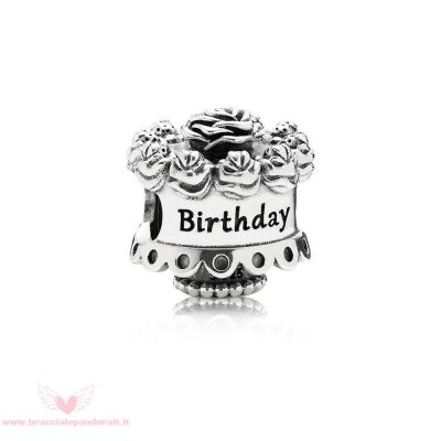 Pandora Online Outlet Compleanno Charms Contento Compleanno Charm