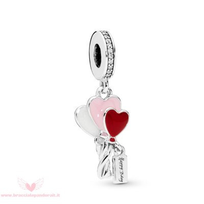 Pandora Online Outlet Cuore Balloons Penzolare Charm