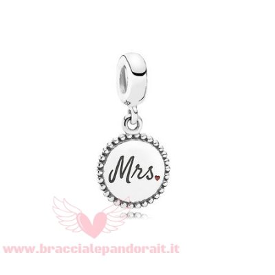 Pandora Online Outlet Nozze Anniversario Charms Sig.Ra. Charm