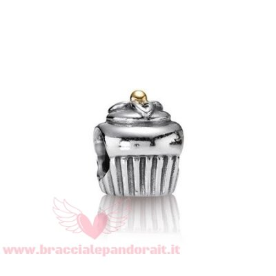 Pandora Online Outlet Compleanno Charms Cupcake Charm