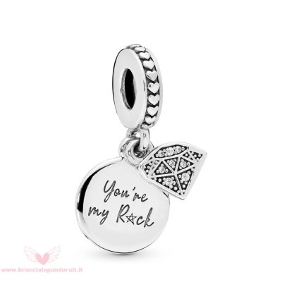 Pandora Online Outlet My Rock Penzolare Charm