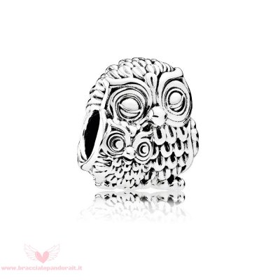 Pandora Online Outlet Animali Charms Gufi Affascinanti Charm