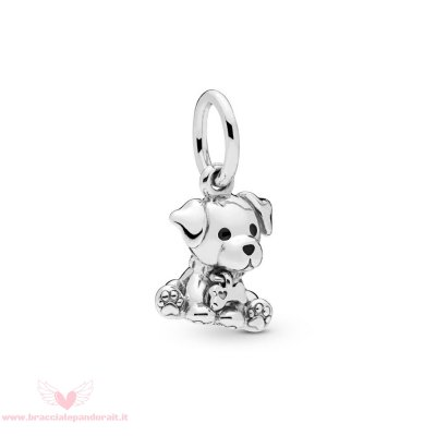 Pandora Online Outlet Labrador Puppy Penzolare Charm