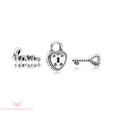 Pandora Online Outlet Key To My Heart Petite Charm Pack