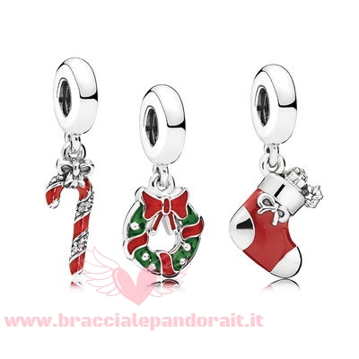 Pandora Online Outlet Natale Spirito Charm Pacco